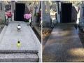 Przed i po mycie